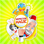 Inspector Magic caricature